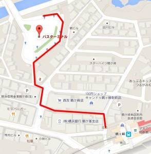 鶴ヶ峰バス停