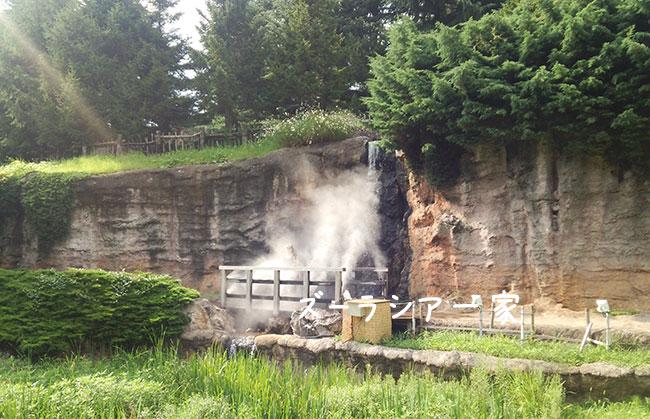 アラースの谷の滝