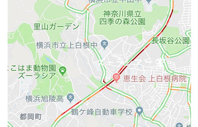 中原街道の渋滞
